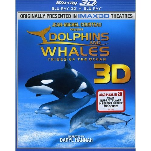 Dolphins and Whales 3D [Blu-ray 3D + Blu-ray]