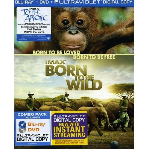 IMAX: Born to Be Wild [Blu-ray + DVD + UV Digital Copy]
