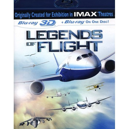 IMAX: Legends of Flight 3D [Blu-ray 3D + Blu-ray]