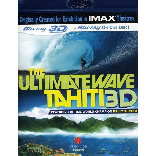 The Ultimate Wave: Tahiti 3D [Blu-ray 3D + Blu-ray]