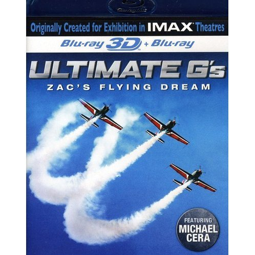 Ultimate G's: Zac's Flying Dream 3D [Blu-ray 3D + Blu-ray]