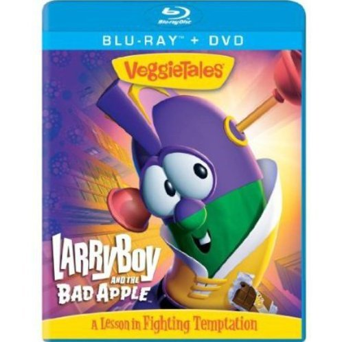 VeggieTales: Larryboy and the Bad Apple [Blu-ray+DVD]