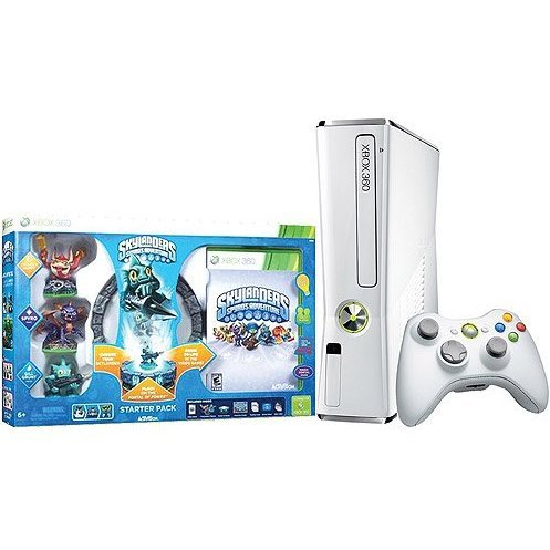 Xbox 360 4GB White Slim Special Edition (Skylanders Bundle)
