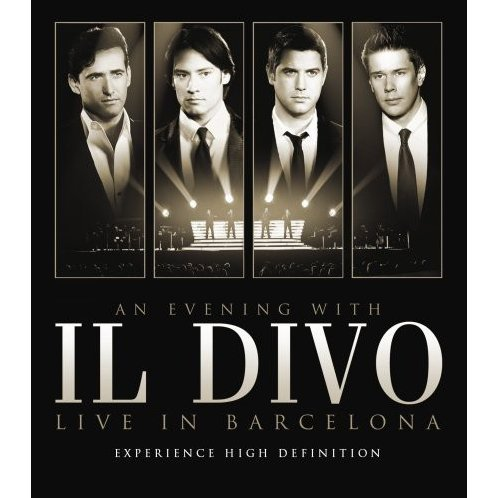 An evening with il divo live in barcelona il divo - Streaming il divo ...