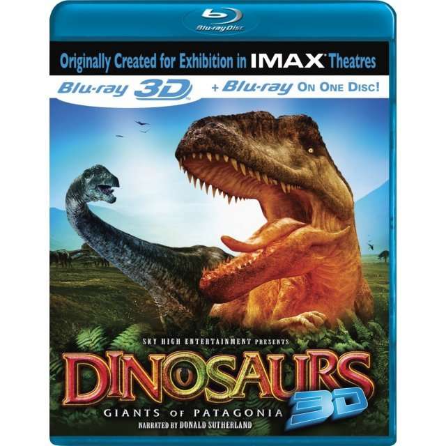 Dinosaurs: Giants of Patagonia 3D [Blu-ray 3D + Blu-ray]