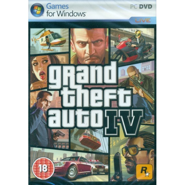 Grand Theft Auto IV (DVD-ROM)