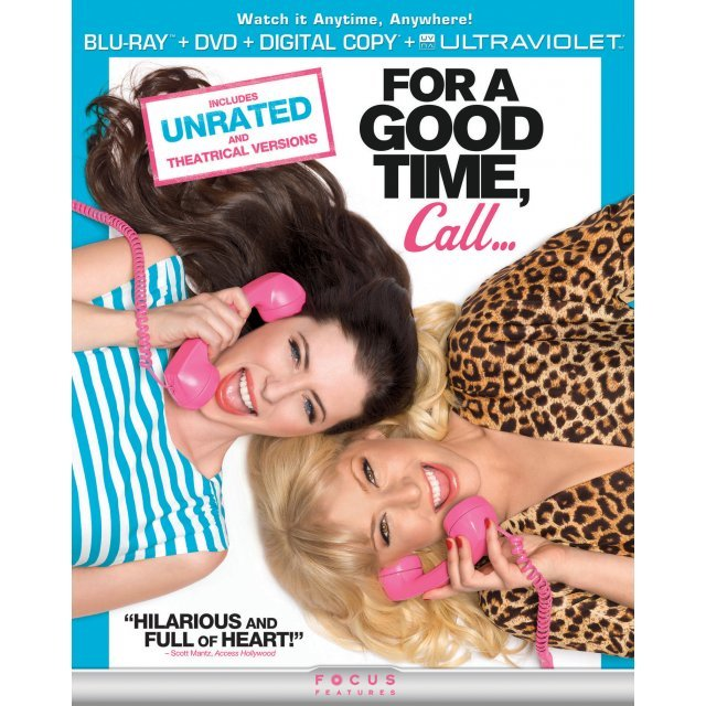 For a Good Time, Call [Blu-ray+DVD+Digital Copy+UltraViolet]