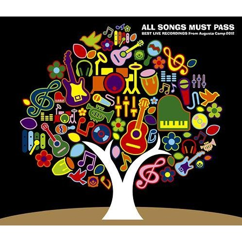 All Songs Must Pass - Best Live Recordings From Augusta Camp 2012 [2CD+DVD Limited Edition]