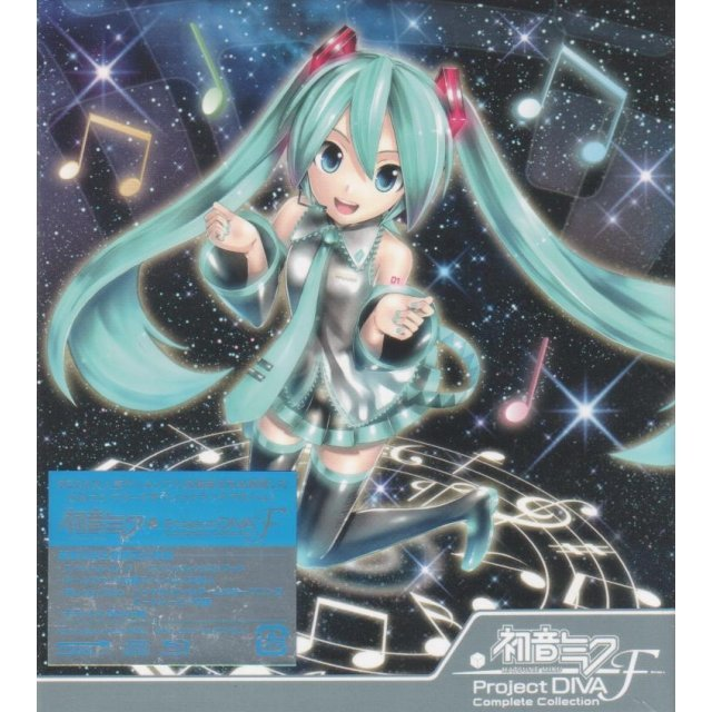 Hatsune Miku - Project Diva-f Complete Collection [3CD+Blu-ray Limited Edition]
