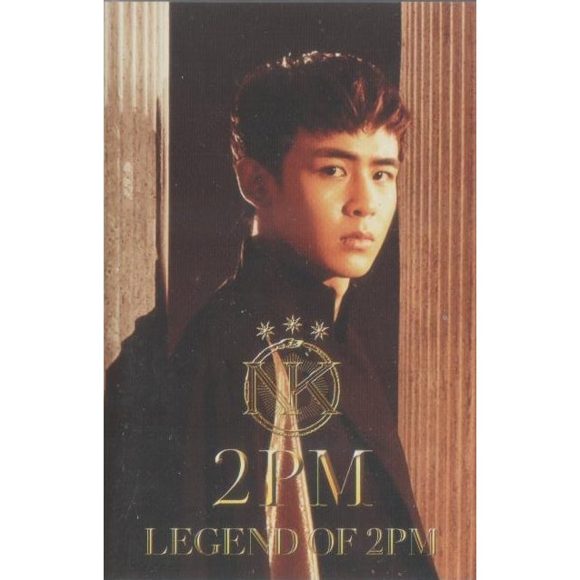 Legend Of 2pm - Nichkhun Version [Playbutton Limited Edition]