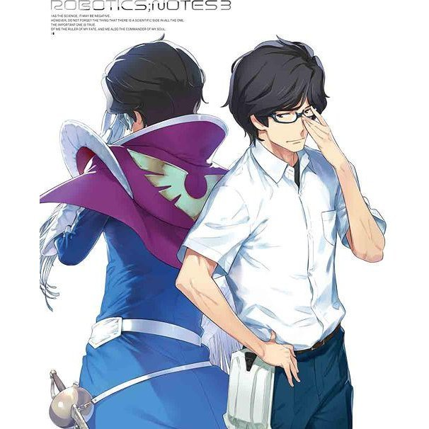 Robotics;notes 3 [Blu-ray+CD Limited Edition]