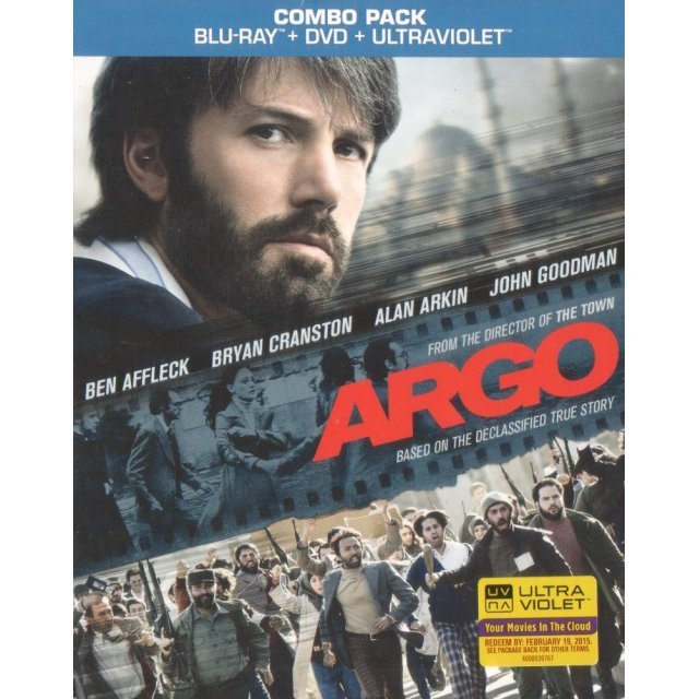 Argo [Blu-ray+DVD+UV Digital Copy]