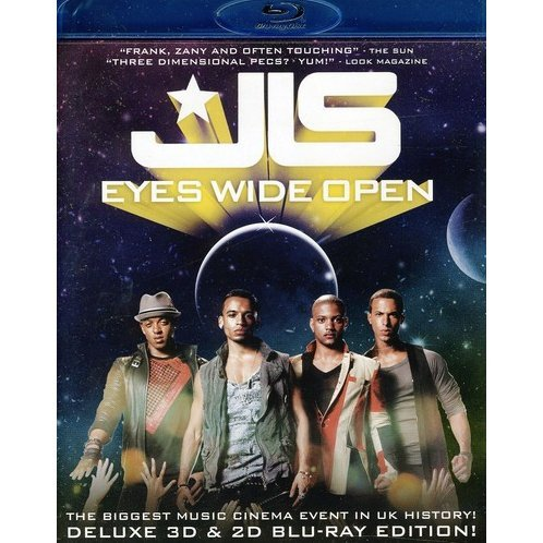 JLS: Eyes Wide Open 3D [Blu-ray 3D]