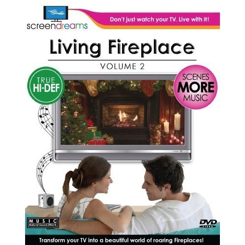 Screen Dreams: Living Fireplace Vol. 2