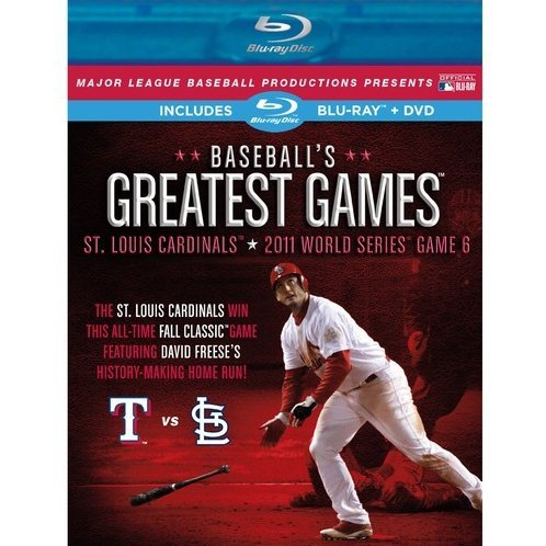 Baseball's Greatest Games: 2011 World Series Game 6 [Blu-ray+DVD]