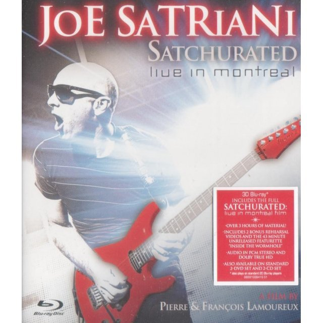 Satriani: Satchurated, Live in Montreal 3D [Blu-ray 3D + Blu-ray]