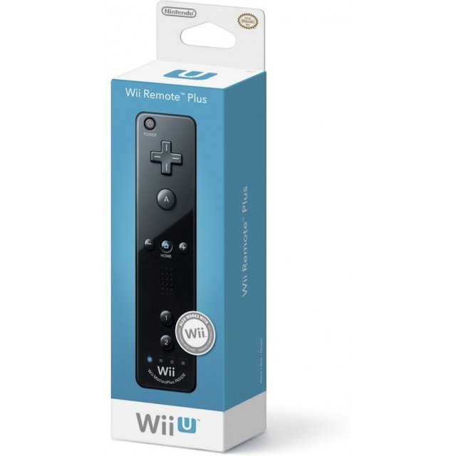Wii U Remote Plus Control (Black)