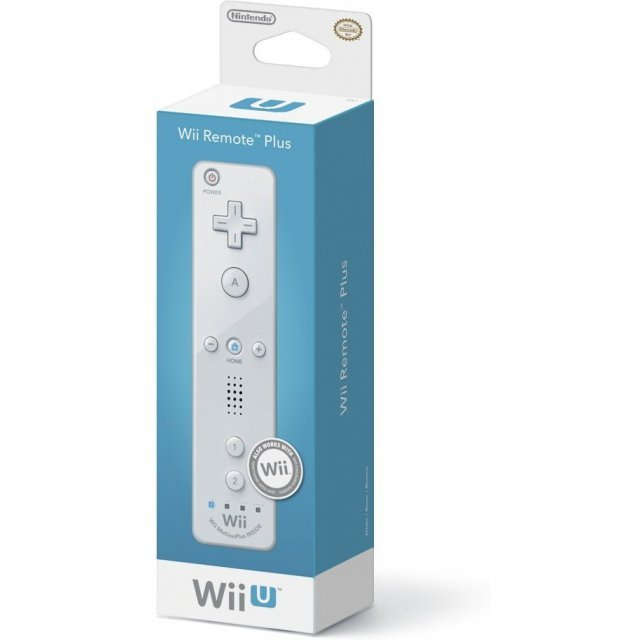 Wii U Remote Plus Control (White)