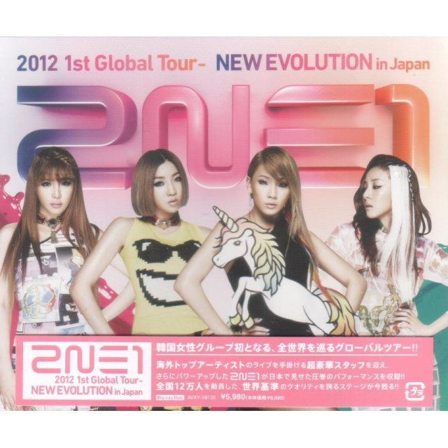 2012 1st Global Tour - New Evolution In Japan
