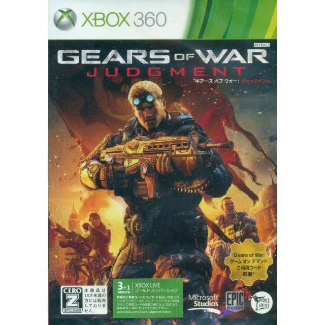Gears of War: Judgment [Xbox Live Gold Membership Bundle]