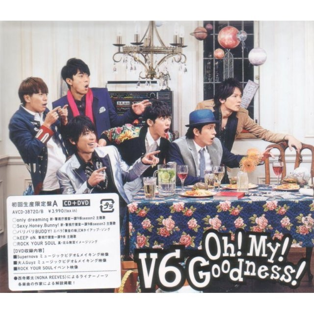 Oh My Goodness [CD+DVD Limited Edition Type A]