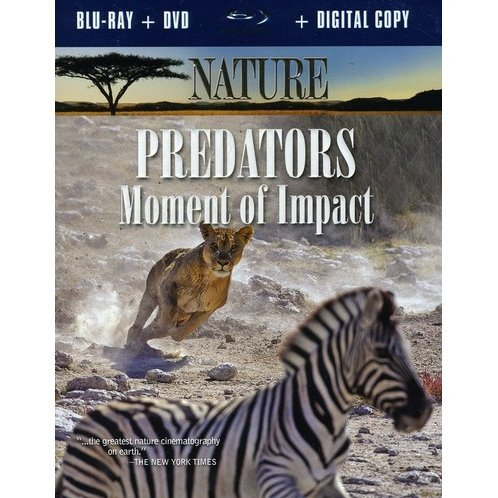 Nature: Predators - Moment of Impact [Blu-ray + DVD + Digital Copy]
