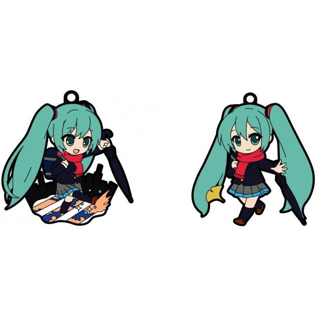 Hobby Stock Character Vocal Series Pikuriru! Hatsune Miku Rubber Strap #05 Traveling Dome