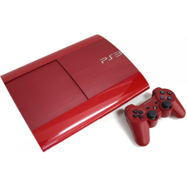 PlayStation3 New Slim Console (250GB Garnet Red Model) - 110V