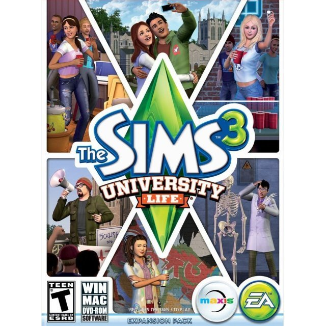The Sims 3: University Life (DVD-ROM)