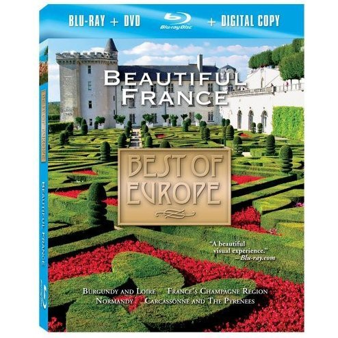 Best of Europe: Beautiful France [Blu-ray+DVD+Digital Copy]