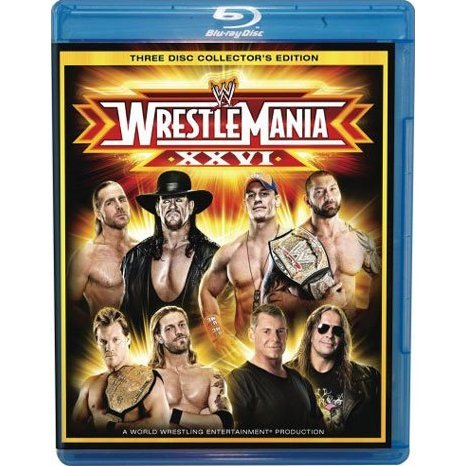 WWE: WrestleMania XXVI [3-Disc Collector's Edition]