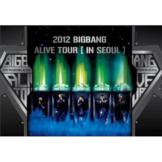 2012 BigBang Alive Tour in Seoul [2DVD]