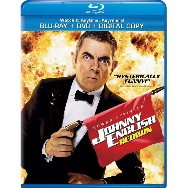 Johnny English Reborn [Blu-ray+DVD+Digital Copy+UltraViolet]