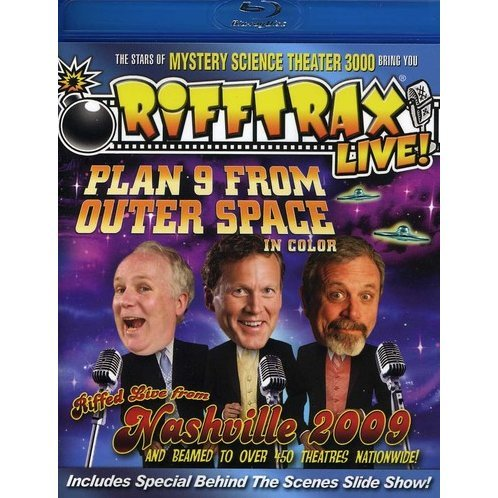 Live Plan 9 From Outer Space