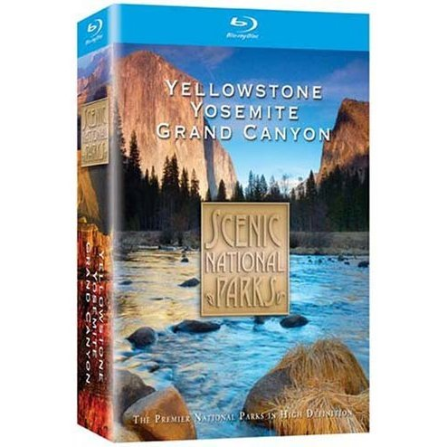Scenic National Parks: Yellowstone / Grand Canyon / Yosemite