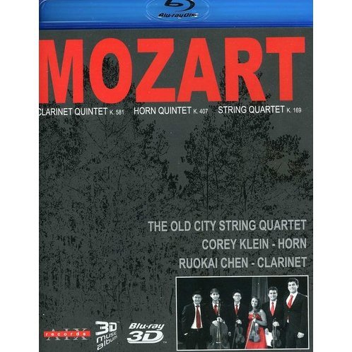 The Old City String Quartet: Mozart - Clarinet Quartet / Horn Quartet / String Quartet [Blu-ray 3D+Blu-ray]