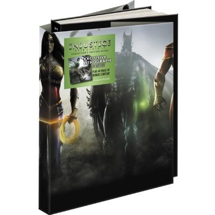 Injustice: Gods Among Us Collector's Edition Prima Official Game Guide