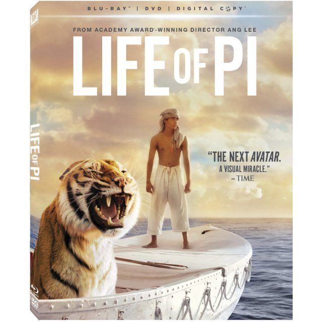 Life of Pi [Blu-ray+DVD+Digital Copy]