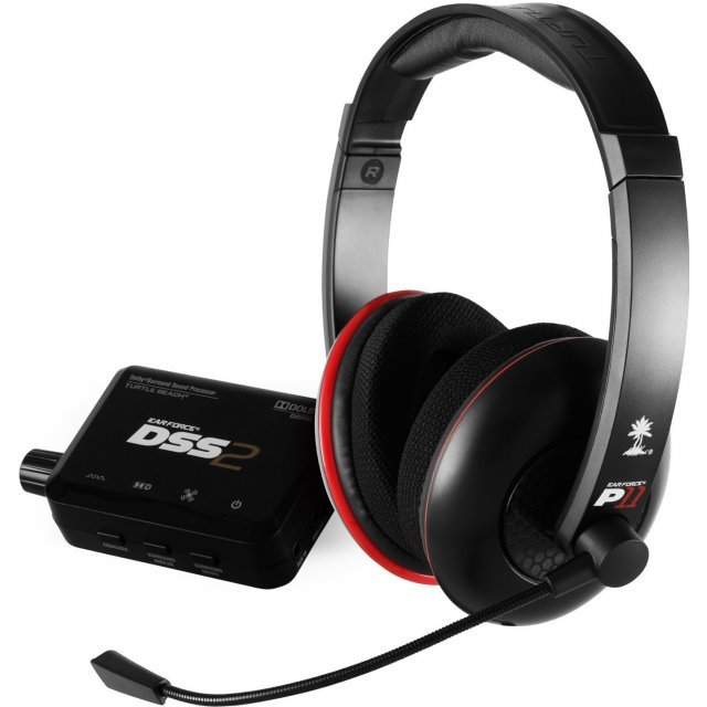 Turtle Beach Ear Force DP11 Gaming Headset (PS3)