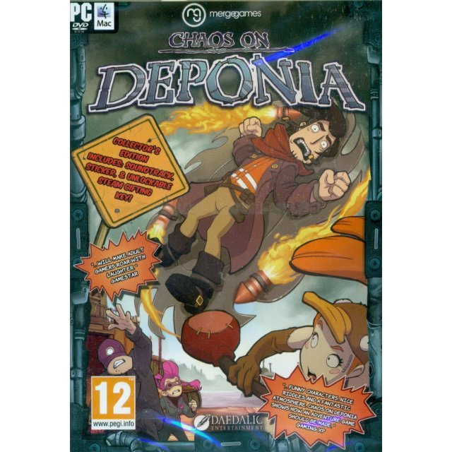 Chaos on Deponia (DVD-ROM)