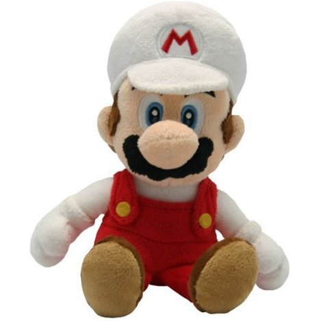 Super Mario Bros. Plush Fire Mario 21cm