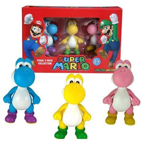 Super Mario Yoshi 3-Pack Collection (Limited Edition)