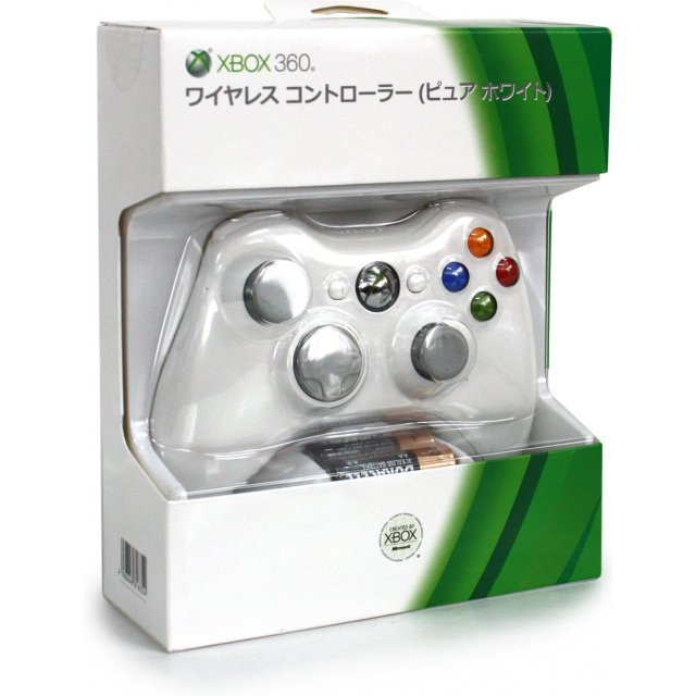 Xbox 360 Wireless Controller (Pure White)