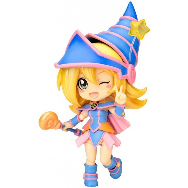 Cu-poche Yu-Gi-Oh! Duel Monsters Non Scale Pre-Painted PVC Figure: Black Magician Girl