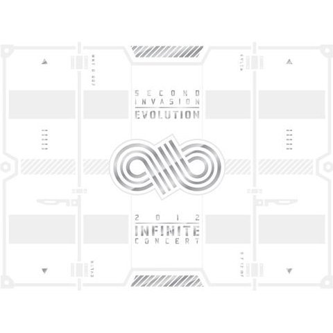 2012 Infinite Concert Second Invasion: Evolution [2DVD+Photobook]