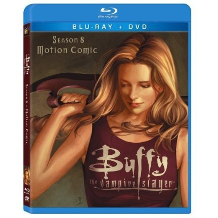 Buffy the Vampire Slayer: Season 8 Motion Comic [Blu-ray+DVD]