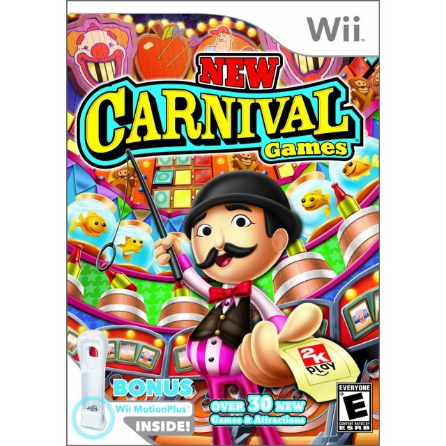 New Carnival Games (w/ Wii MotionPlus)