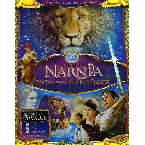 The Chronicles of Narnia: The Voyage of the Dawn Treader [Blu-ray+DVD+Digital Copy]