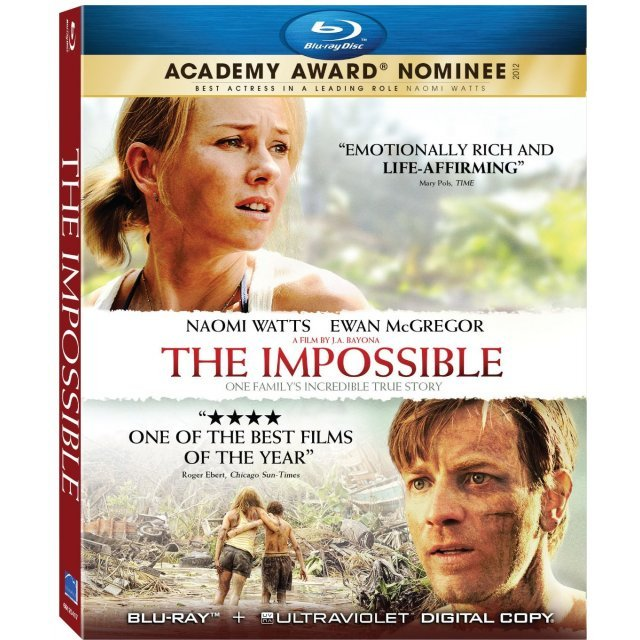 The Impossible [Blu-ray+UV Digital Copy]