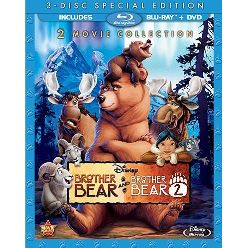 Brother Bear / Brother Bear 2 [Blu-ray+DVD]